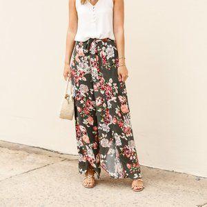 Floral Flowy Pants